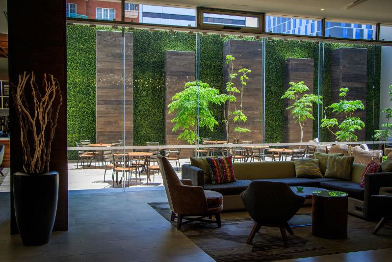 Instagreen Enredaderas artificiales. Follaje artificial. Muros verdes. Jardines verticales. Plantas artificiales