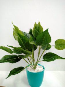 Planta Artificial 12 Hojas Lisa
