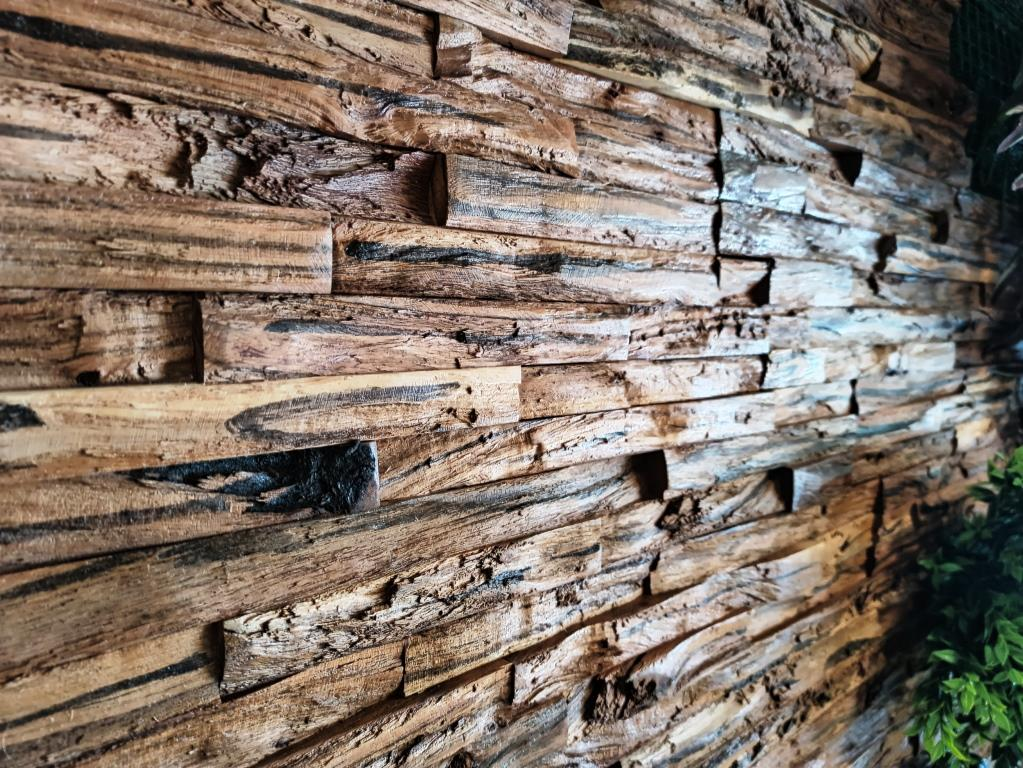 Revestimiento en madera para muros o paredes interiores WOOD PANELS